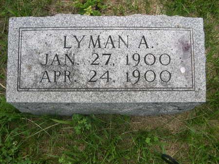 SPURGEON, LYMAN A. - Dallas County, Iowa | LYMAN A. SPURGEON