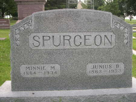 SPURGEON, JUNIUS B. - Dallas County, Iowa | JUNIUS B. SPURGEON