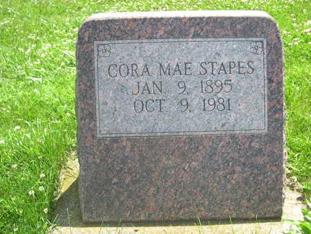 STAPES, CORA MAE - Dallas County, Iowa | CORA MAE STAPES