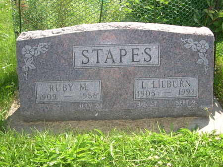 STAPES, L. LILBURN - Dallas County, Iowa | L. LILBURN STAPES