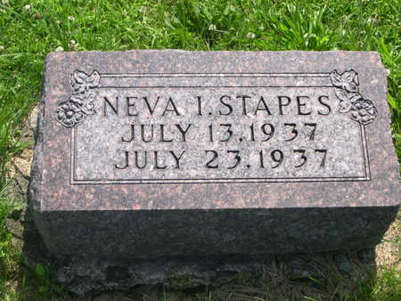 STAPES, NEVA I. - Dallas County, Iowa | NEVA I. STAPES