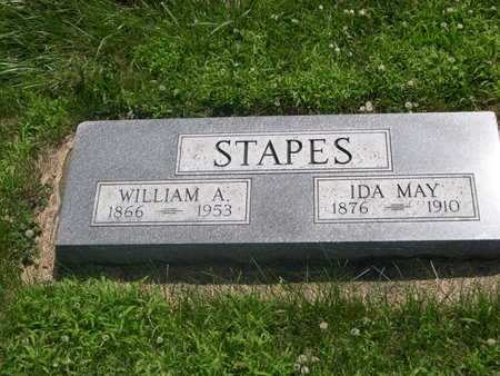 STAPES, IDA MAY - Dallas County, Iowa | IDA MAY STAPES