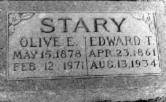 STARY, OLIVE - Dallas County, Iowa | OLIVE STARY