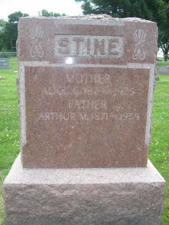 STINE, ARTHUR M. - Dallas County, Iowa | ARTHUR M. STINE