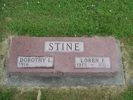 STINE, LOREN F. - Dallas County, Iowa | LOREN F. STINE