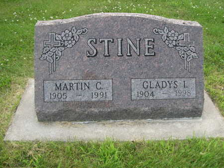 STINE, GLADYS L. - Dallas County, Iowa | GLADYS L. STINE