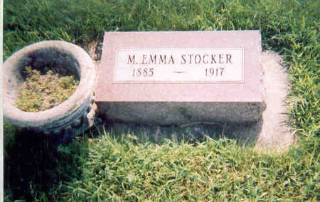 STOCKER, MARY EMMA - Dallas County, Iowa | MARY EMMA STOCKER