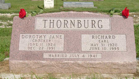 THORNBURG, RICHARD EARL - Dallas County, Iowa | RICHARD EARL THORNBURG