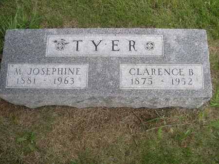 TYER, CLARENCE B. - Dallas County, Iowa | CLARENCE B. TYER