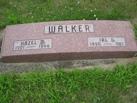 WALKER, IRL D. - Dallas County, Iowa | IRL D. WALKER