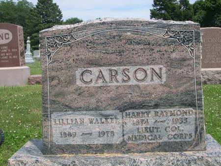 WALKER CARSON, LILLIAN - Dallas County, Iowa | LILLIAN WALKER CARSON