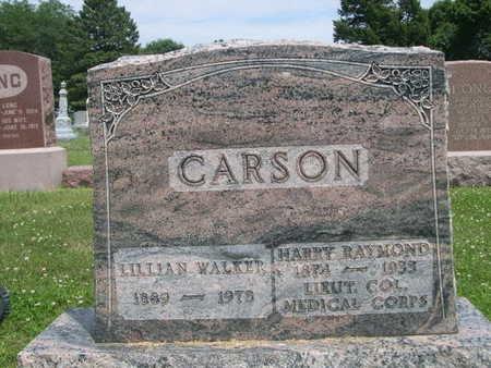 WALKER CARSON, LILLIAN - Dallas County, Iowa | LILLIAN WALKER CARSON