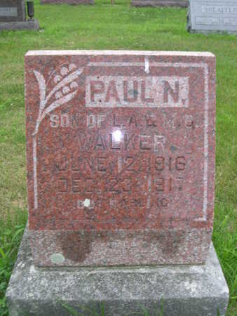 WALKER, PAUL N. - Dallas County, Iowa | PAUL N. WALKER