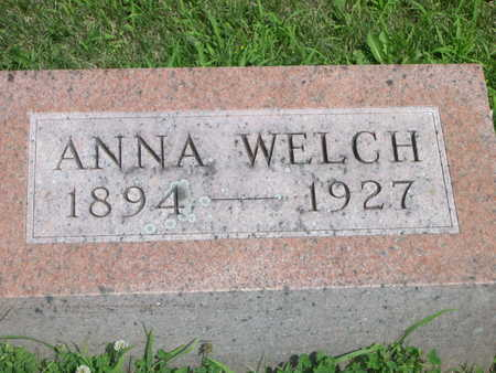 WELCH, ANNA - Dallas County, Iowa | ANNA WELCH