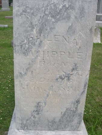 WHIPPLE, PHILINA - Dallas County, Iowa | PHILINA WHIPPLE