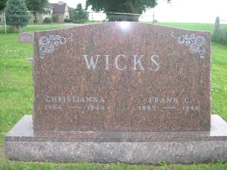 WICKS, FRANK C. - Dallas County, Iowa | FRANK C. WICKS