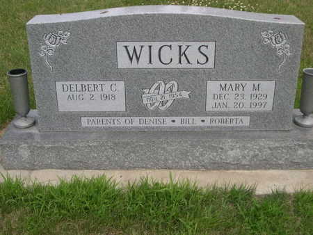 WICKS, DELBERT - Dallas County, Iowa | DELBERT WICKS