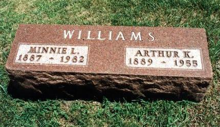 WILLIAMS, ARTHUR K - Dallas County, Iowa | ARTHUR K WILLIAMS