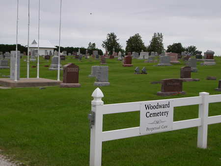 WOODWARD, CEMETERY - Dallas County, Iowa | CEMETERY WOODWARD