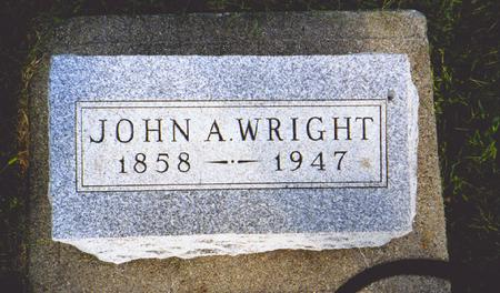 WRIGHT, JOHN - Dallas County, Iowa | JOHN WRIGHT