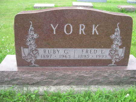 YORK, RUBY G. - Dallas County, Iowa | RUBY G. YORK