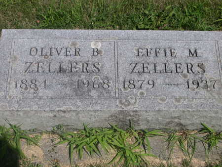 ZELLERS, EFFIE M. - Dallas County, Iowa | EFFIE M. ZELLERS