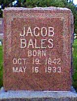 BALES, JACOB - Davis County, Iowa | JACOB BALES