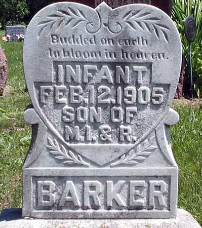 BARKER, INFANT - Davis County, Iowa | INFANT BARKER