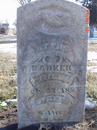 BARKER, MATTHEW - Davis County, Iowa | MATTHEW BARKER