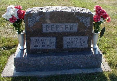 BEELER, ROSS F. - Davis County, Iowa | ROSS F. BEELER