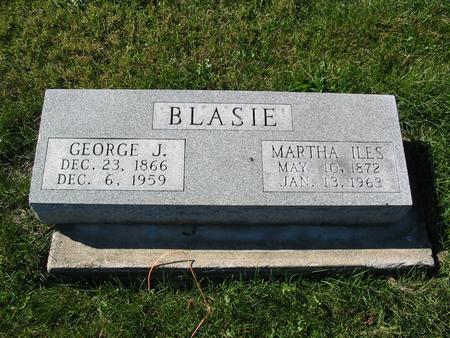 BLASIE, GEORGE J. - Davis County, Iowa | GEORGE J. BLASIE