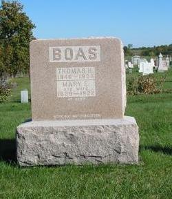 BOAS, MARY E. - Davis County, Iowa | MARY E. BOAS