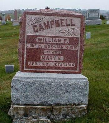 CAMPBELL, MARY ELIZABETH - Davis County, Iowa | MARY ELIZABETH CAMPBELL