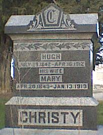 FISK CHRISTY, HUGH & MARY - Davis County, Iowa | HUGH & MARY FISK CHRISTY