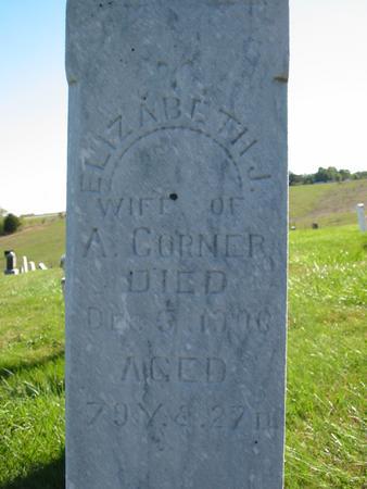 CORNER, ELIZABETH JANE - Davis County, Iowa | ELIZABETH JANE CORNER