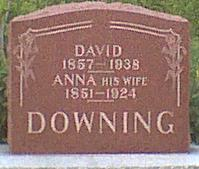 DOWNING, ANNA - Davis County, Iowa | ANNA DOWNING