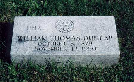 DUNLAP, WILLIAM THOMAS - Davis County, Iowa | WILLIAM THOMAS DUNLAP
