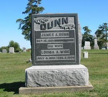 DUNN, JAMES A. - Davis County, Iowa | JAMES A. DUNN