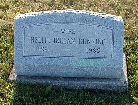 IRELAN DUNNING, NELLIE - Davis County, Iowa | NELLIE IRELAN DUNNING