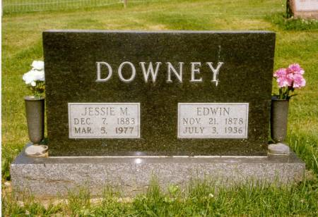 DOWNEY, EDWIN - Davis County, Iowa | EDWIN DOWNEY