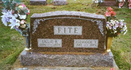 FITE, LILLIE B. - Davis County, Iowa | LILLIE B. FITE
