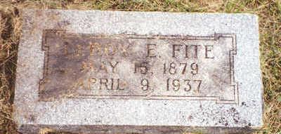 FITE, LEROY EMMITT - Davis County, Iowa | LEROY EMMITT FITE