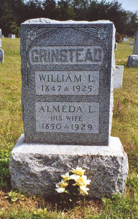 GRINSTEAD, WILLIAM LEWIS - Davis County, Iowa | WILLIAM LEWIS GRINSTEAD