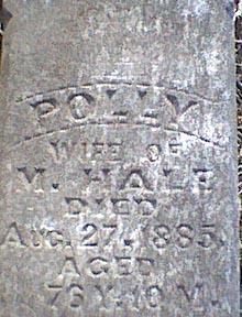 HALE, POLLY - Davis County, Iowa   POLLY HALE