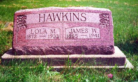 HAWKINS, JAMES W. - Davis County, Iowa | JAMES W. HAWKINS