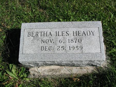 HEADY, BERTHA - Davis County, Iowa | BERTHA HEADY