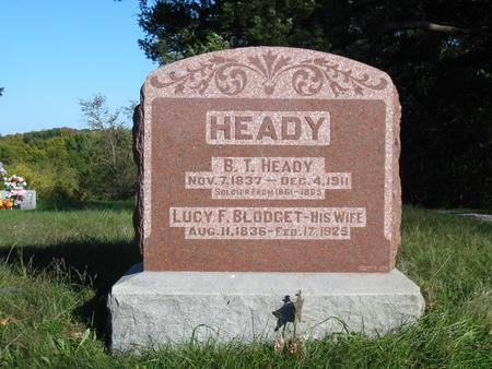 HEADY, BENJAMIN THOMAS - Davis County, Iowa | BENJAMIN THOMAS HEADY