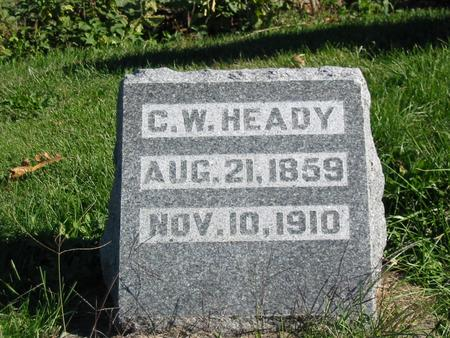 HEADY, CHARLES W. - Davis County, Iowa | CHARLES W. HEADY