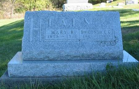 RILEY HEADY, MARY - Davis County, Iowa | MARY RILEY HEADY