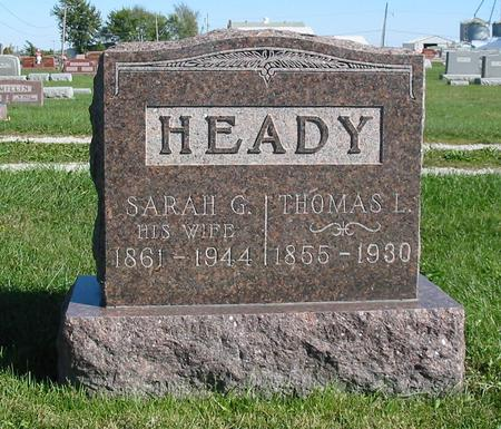 HEADY, THOMAS LYNN - Davis County, Iowa | THOMAS LYNN HEADY